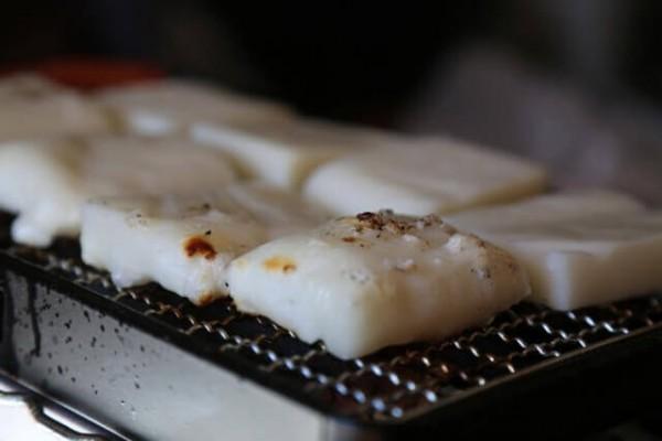 餅がトースターにくっつかない焼き方!レンジ・フライパンではこの方法!